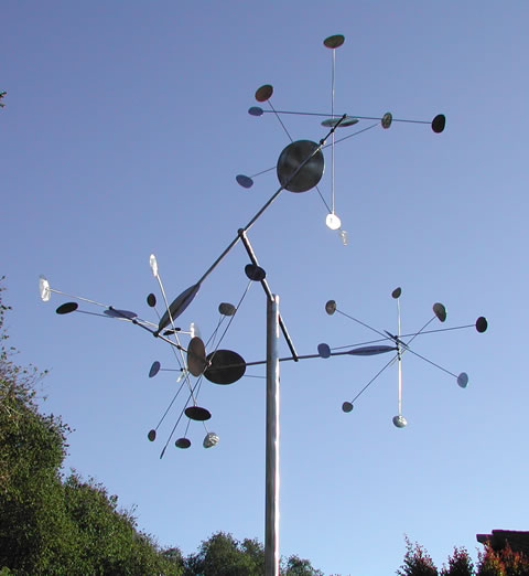 Stellar Motion 2007 Kinetic Sculpture